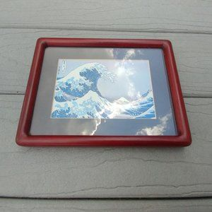 Other - The Great Wave Picture In Frame
